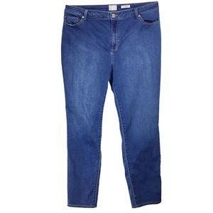 Susan Graver Knit Denim Jeans